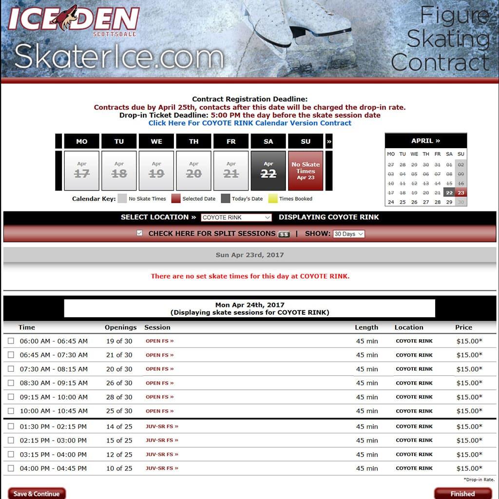 Ice Den: Skater Ice