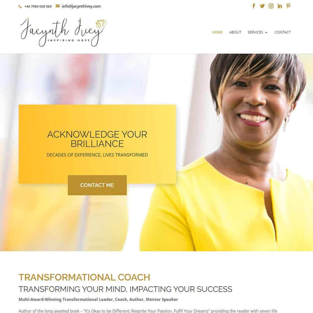 Jacynth Ivey Website