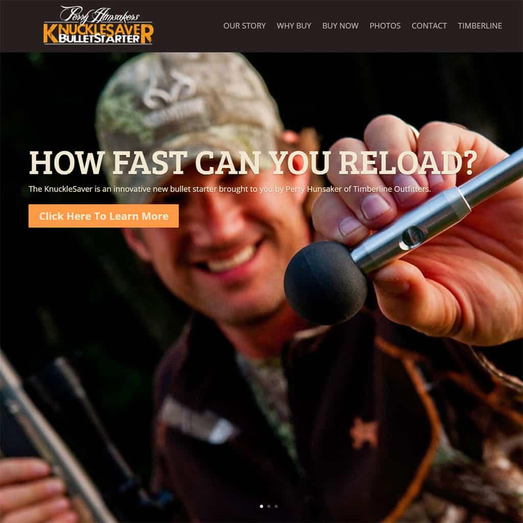 KnuckleSaver Bullet Starter