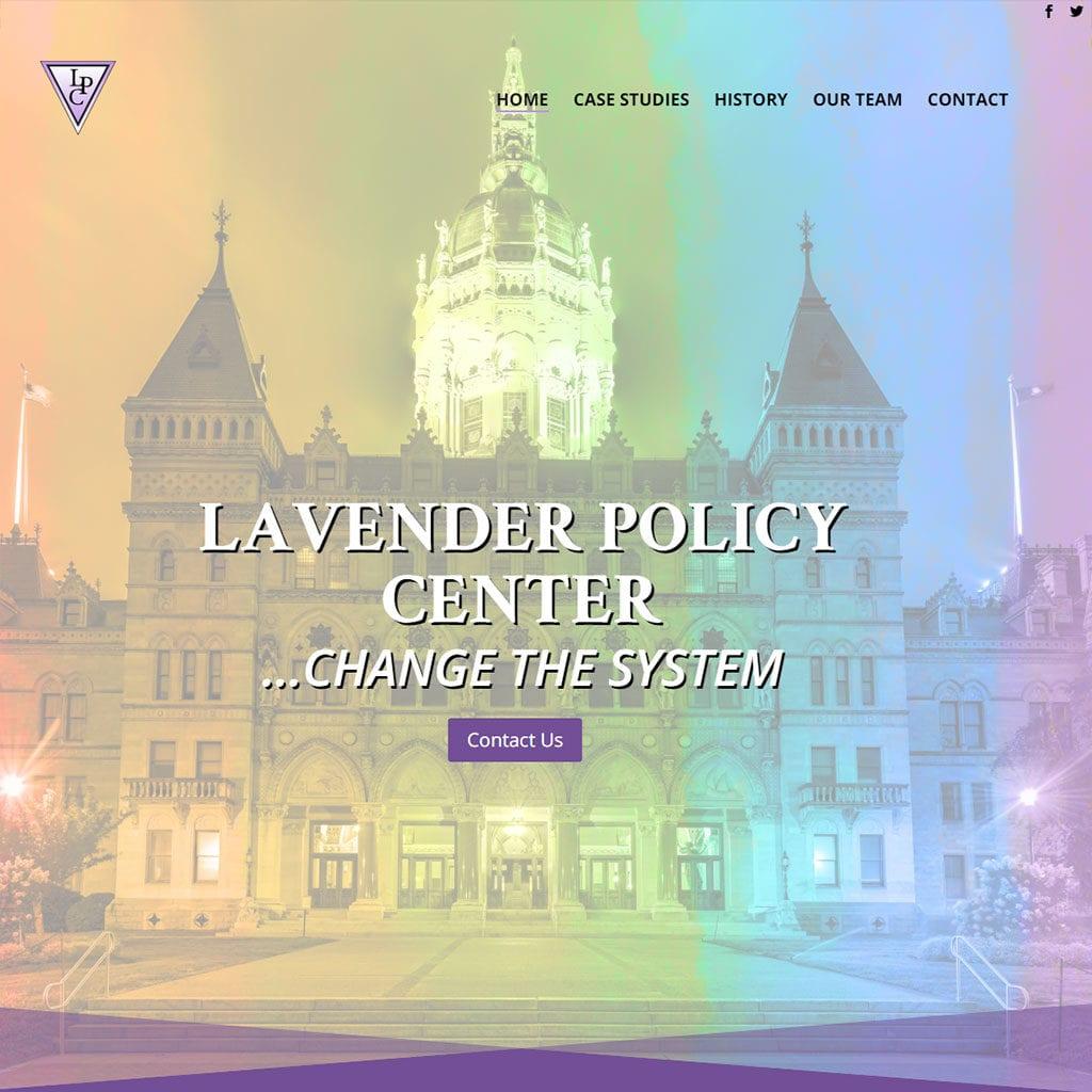 Lavender Policy Center Website